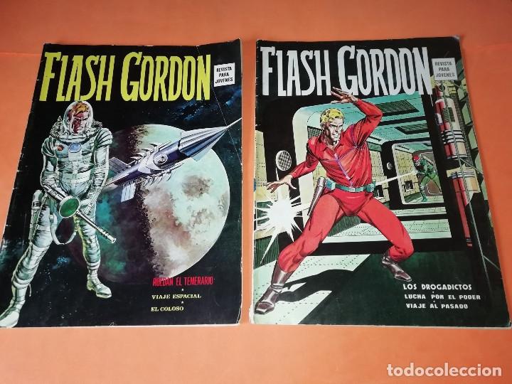 Cómics: FLASH GORDON . GRAN LOTE EDICIONES VERTICE , DOLAR Y B.O. 42 COMICS EN TOTAL. NO SUELTOS. - Foto 2 - 179392680