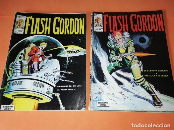 Cómics: FLASH GORDON . GRAN LOTE EDICIONES VERTICE , DOLAR Y B.O. 42 COMICS EN TOTAL. NO SUELTOS. - Foto 4 - 179392680