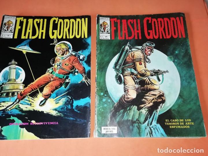 Cómics: FLASH GORDON . GRAN LOTE EDICIONES VERTICE , DOLAR Y B.O. 42 COMICS EN TOTAL. NO SUELTOS. - Foto 5 - 179392680