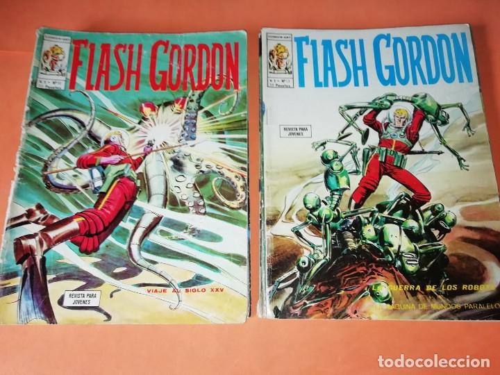 Cómics: FLASH GORDON . GRAN LOTE EDICIONES VERTICE , DOLAR Y B.O. 42 COMICS EN TOTAL. NO SUELTOS. - Foto 7 - 179392680