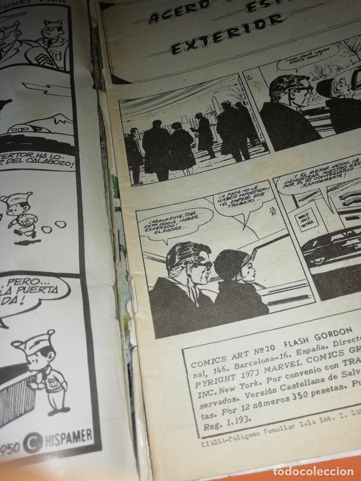 Cómics: FLASH GORDON . GRAN LOTE EDICIONES VERTICE , DOLAR Y B.O. 42 COMICS EN TOTAL. NO SUELTOS. - Foto 11 - 179392680