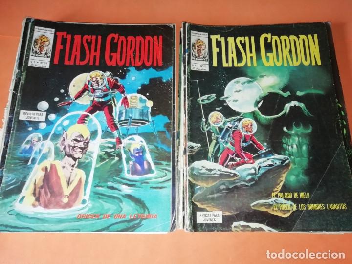 Cómics: FLASH GORDON . GRAN LOTE EDICIONES VERTICE , DOLAR Y B.O. 42 COMICS EN TOTAL. NO SUELTOS. - Foto 12 - 179392680