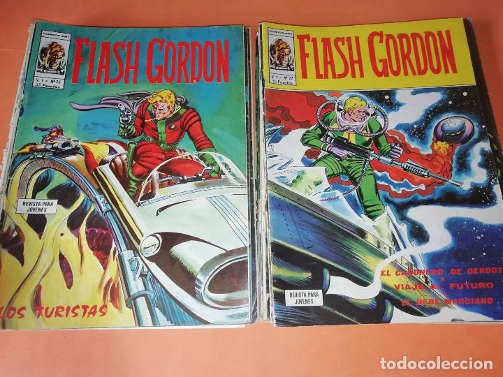 Cómics: FLASH GORDON . GRAN LOTE EDICIONES VERTICE , DOLAR Y B.O. 42 COMICS EN TOTAL. NO SUELTOS. - Foto 13 - 179392680