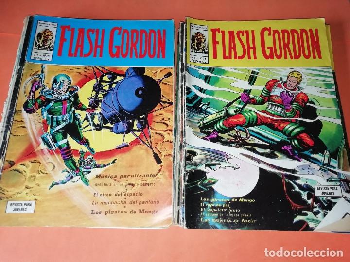 Cómics: FLASH GORDON . GRAN LOTE EDICIONES VERTICE , DOLAR Y B.O. 42 COMICS EN TOTAL. NO SUELTOS. - Foto 14 - 179392680