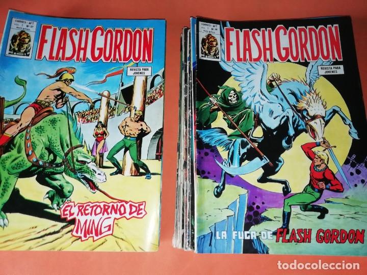 Cómics: FLASH GORDON . GRAN LOTE EDICIONES VERTICE , DOLAR Y B.O. 42 COMICS EN TOTAL. NO SUELTOS. - Foto 19 - 179392680