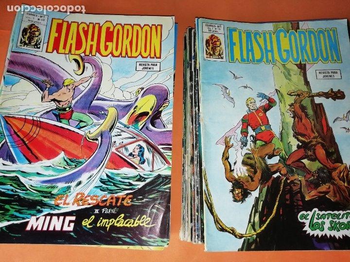 Cómics: FLASH GORDON . GRAN LOTE EDICIONES VERTICE , DOLAR Y B.O. 42 COMICS EN TOTAL. NO SUELTOS. - Foto 20 - 179392680