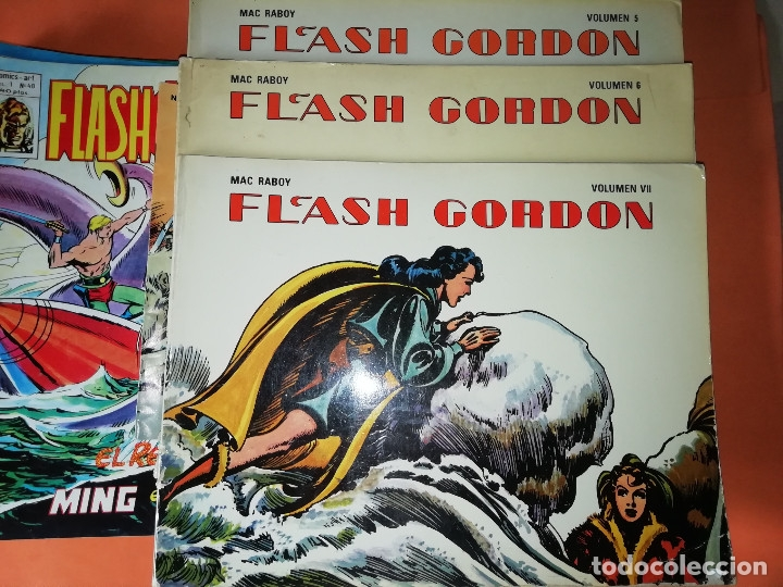 Cómics: FLASH GORDON . GRAN LOTE EDICIONES VERTICE , DOLAR Y B.O. 42 COMICS EN TOTAL. NO SUELTOS. - Foto 23 - 179392680