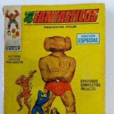 Cómics: LOS CUATRO FANTÁSTICOS. Nº 8. EL PENSADOR LOCO. EDICIONES VERTICE. 1970.. Lote 179521232