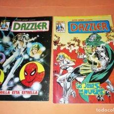 Cómics: DAZZLER. SUPERHEROES PRESENTA :Nº 1 Y 2. MUNDICOMICS. VERTICE. BUEN ESTADO. COLOR.. Lote 179522163