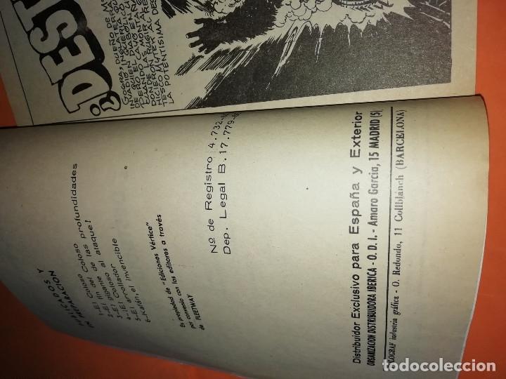 Cómics: MYTEK EL PODEROSO. ¿DESTRUIDO ? . VERTICE. GRAPA Nº10. - Foto 3 - 180007412