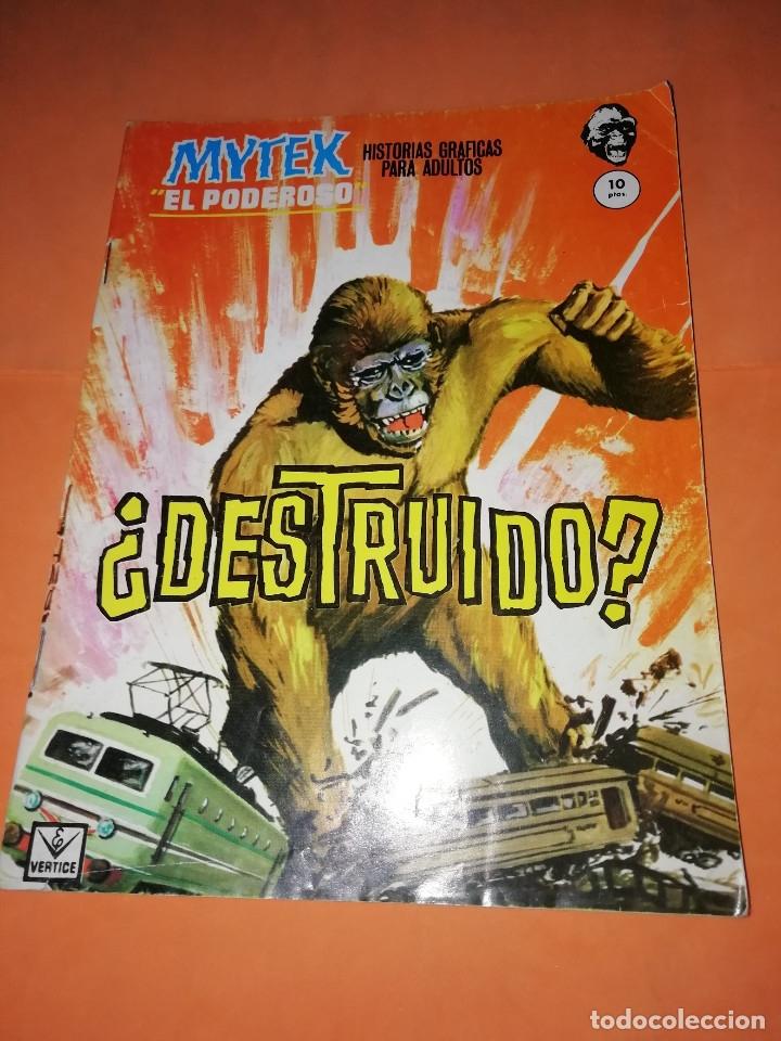 MYTEK EL PODEROSO. ¿DESTRUIDO ? . VERTICE. GRAPA Nº10. (Tebeos y Comics - Vértice - Grapa)