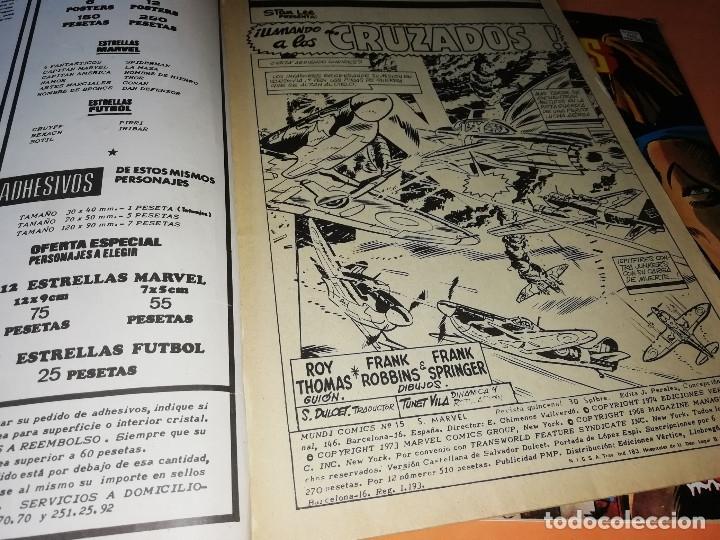 Cómics: LOS INVASORES. LLAMANDO A LOS CRUZADOS V.1 Nº 15. V POR VAMPIRO V.1 Nº 50. - Foto 3 - 180008982