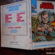 Cómics: SARGENTO FURIA Nº 11-VERTICE-1972. Lote 180026456