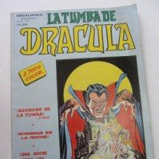 Cómics: LA TUMBA DE DRACULA - ESCALOFRIO PRESENTA VOL.2 Nº 7 - VERTICE BUEN ESTADO CS200. Lote 180088325