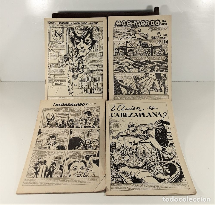 Cómics: MUNDI-COMICS. SPIDERMAN. 13 EJEMPLARES. MARVEL. EDICIONES VERTICE. BARCELONA. SIGLO XX. - Foto 2 - 180095188