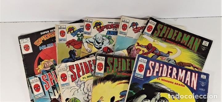 Cómics: MUNDI-COMICS. SPIDERMAN. 13 EJEMPLARES. MARVEL. EDICIONES VERTICE. BARCELONA. SIGLO XX. - Foto 3 - 180095188
