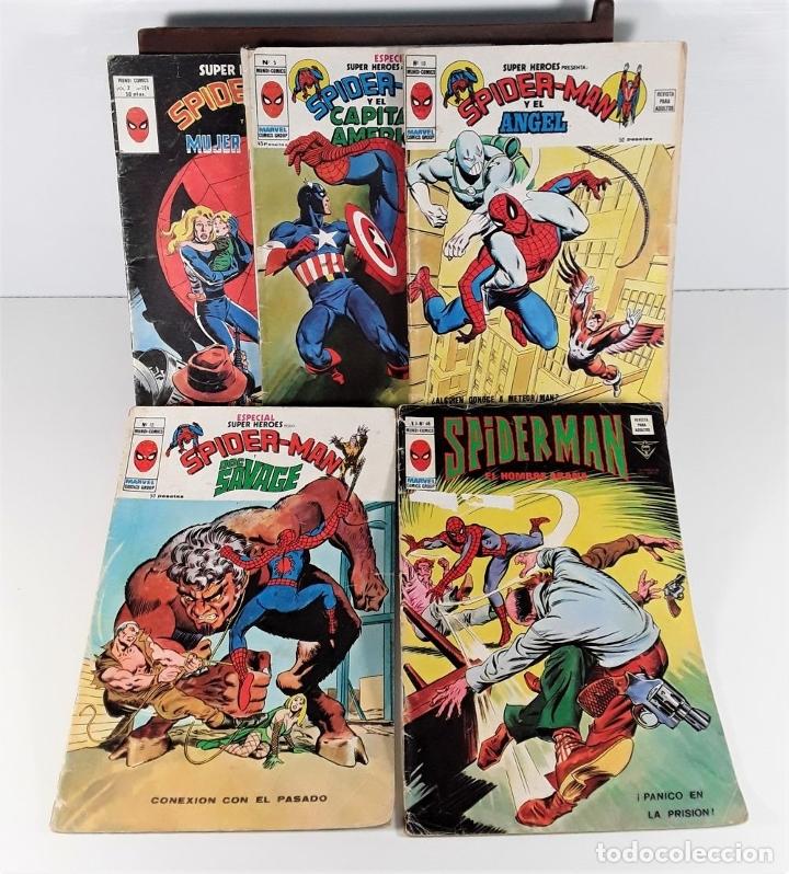 Cómics: MUNDI-COMICS. SPIDERMAN. 13 EJEMPLARES. MARVEL. EDICIONES VERTICE. BARCELONA. SIGLO XX. - Foto 4 - 180095188