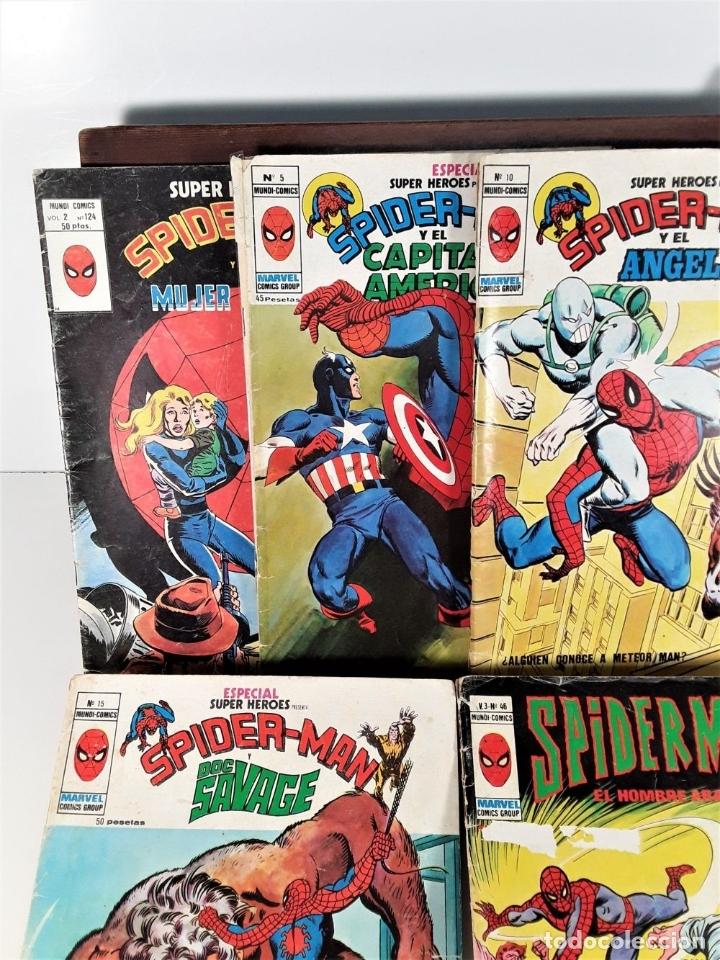 Cómics: MUNDI-COMICS. SPIDERMAN. 13 EJEMPLARES. MARVEL. EDICIONES VERTICE. BARCELONA. SIGLO XX. - Foto 5 - 180095188