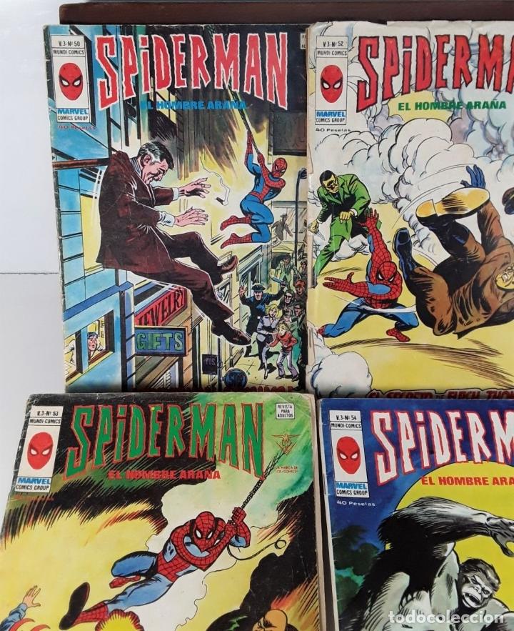 Cómics: MUNDI-COMICS. SPIDERMAN. 13 EJEMPLARES. MARVEL. EDICIONES VERTICE. BARCELONA. SIGLO XX. - Foto 7 - 180095188