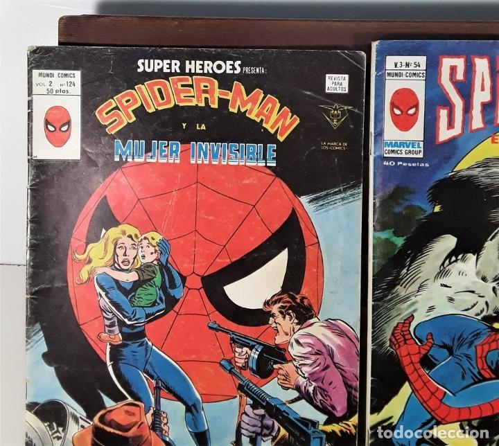 Cómics: MUNDI-COMICS. SPIDERMAN. 13 EJEMPLARES. MARVEL. EDICIONES VERTICE. BARCELONA. SIGLO XX. - Foto 11 - 180095188
