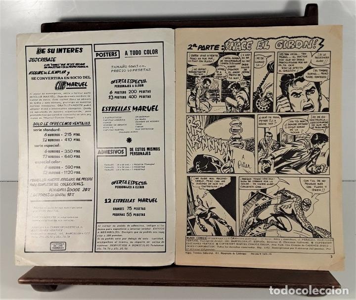 Cómics: MUNDI-COMICS. SPIDERMAN. 13 EJEMPLARES. MARVEL. EDICIONES VERTICE. BARCELONA. SIGLO XX. - Foto 15 - 180095188