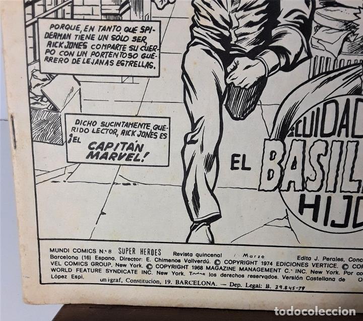 Cómics: MUNDI-COMICS. SPIDERMAN. 13 EJEMPLARES. MARVEL. EDICIONES VERTICE. BARCELONA. SIGLO XX. - Foto 19 - 180095188
