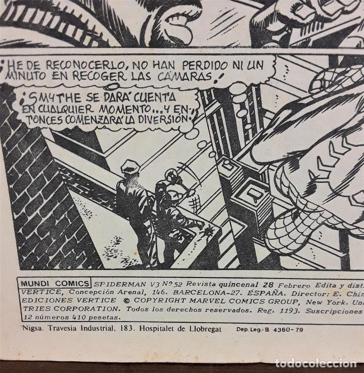 Cómics: MUNDI-COMICS. SPIDERMAN. 13 EJEMPLARES. MARVEL. EDICIONES VERTICE. BARCELONA. SIGLO XX. - Foto 20 - 180095188