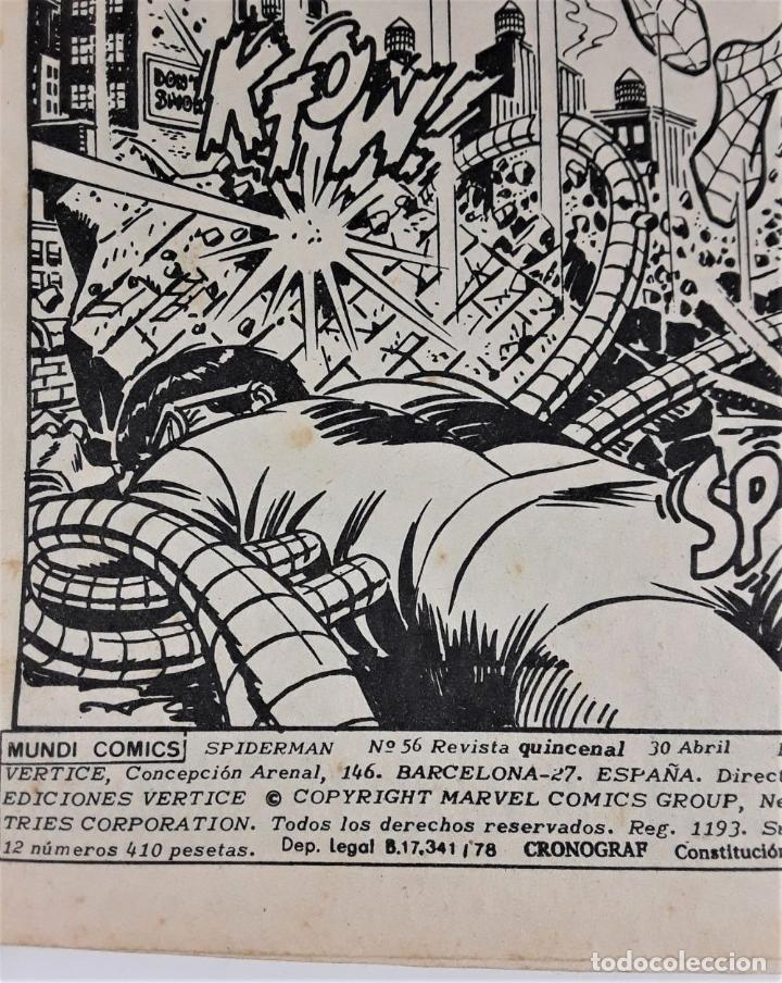 Cómics: MUNDI-COMICS. SPIDERMAN. 13 EJEMPLARES. MARVEL. EDICIONES VERTICE. BARCELONA. SIGLO XX. - Foto 22 - 180095188