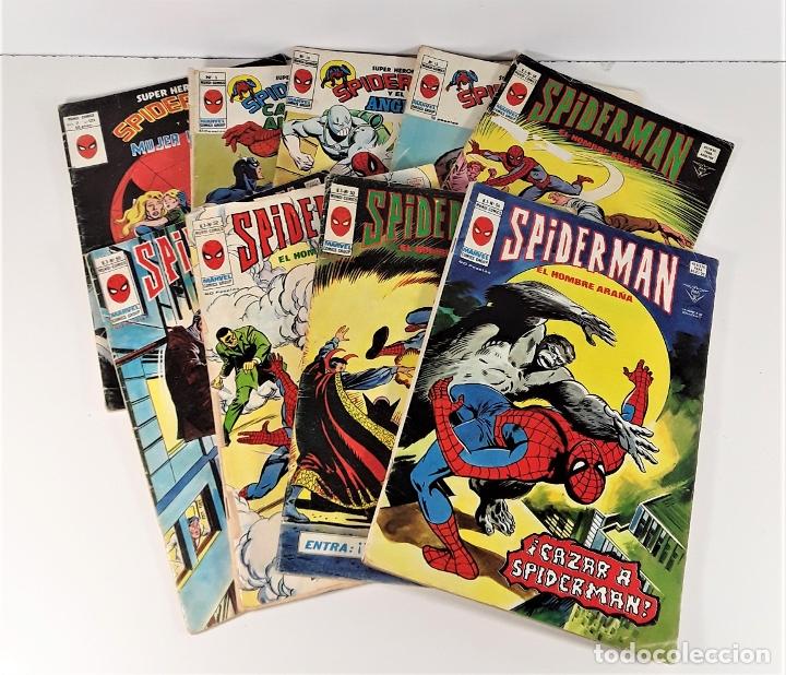 MUNDI-COMICS. SPIDERMAN. 13 EJEMPLARES. MARVEL. EDICIONES VERTICE. BARCELONA. SIGLO XX. (Tebeos y Comics - Vértice - Otros)
