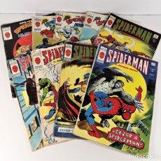 Cómics: MUNDI-COMICS. SPIDERMAN. 13 EJEMPLARES. MARVEL. EDICIONES VERTICE. BARCELONA. SIGLO XX.. Lote 180095188