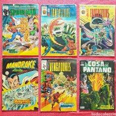 Cómics: LOTE 6 COMICS MARVEL Y DC. ED.VERTICE AÑOS 80. LOS 4 FANTASTICOS.... Lote 180111550