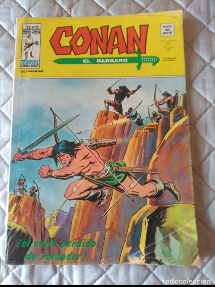 CONAN V2 Nº23 (Tebeos y Comics - Vértice - V.2)