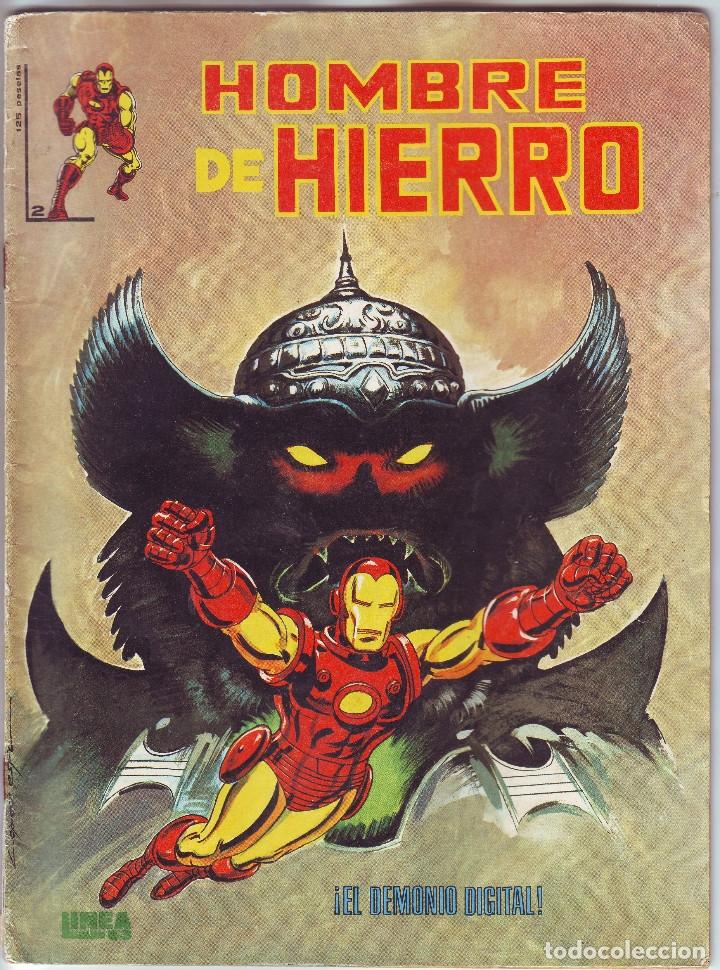 HOMBRE DE HIERRO Nº 2 DE EDICIONES SURCO (Tebeos y Comics - Vértice - Surco / Mundi-Comic)