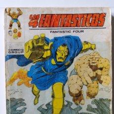 Cómics: LOS 4 FANTASTICOS. Nº 58. LA HORA FINAL. EDICIONES VERTICE. 1973.. Lote 180185053
