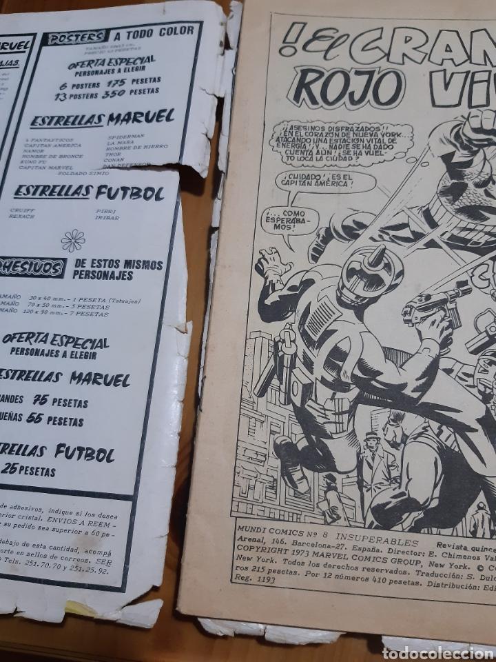 Cómics: Comic vertice LOS INSUPERABLES,EL HOMBRE DE HIERRO ,EL CAPITAN AMERICA - Foto 4 - 180204468