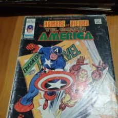 Cómics: COMIC VERTICE LOS INSUPERABLES,EL HOMBRE DE HIERRO ,EL CAPITAN AMERICA. Lote 180204468