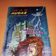 Cómics: MAX AUDAZ. VOLUMEN 1. NUMERO 1. LA MANSION DE LOS MIL SECRETOS. EDICIONES VERTICE 1965. MUY RARO.. Lote 180249985