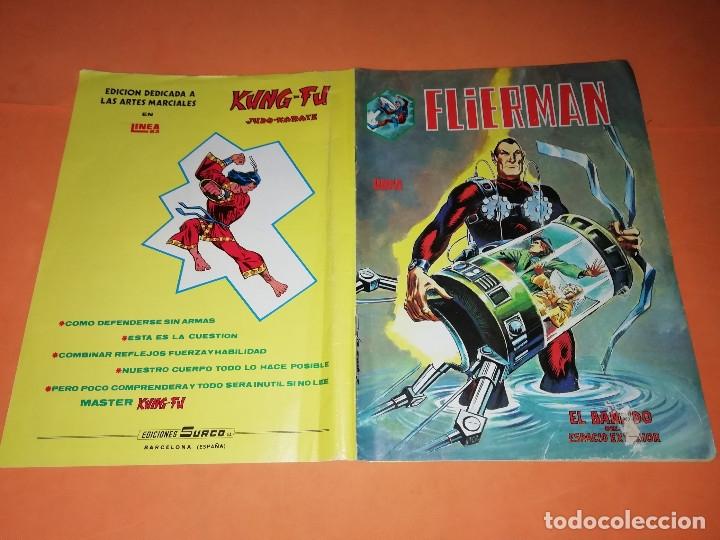 Cómics: FLIERMAN. Nº 1 VERTICE COLOR ( buen estado) Y Nº 2 SURCO b/n. ( ver fotos) - Foto 2 - 180251395