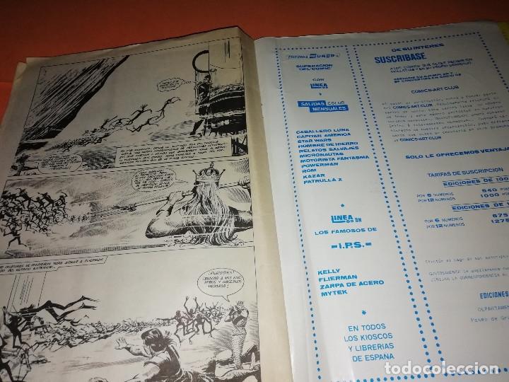 Cómics: FLIERMAN. Nº 1 VERTICE COLOR ( buen estado) Y Nº 2 SURCO b/n. ( ver fotos) - Foto 5 - 180251395