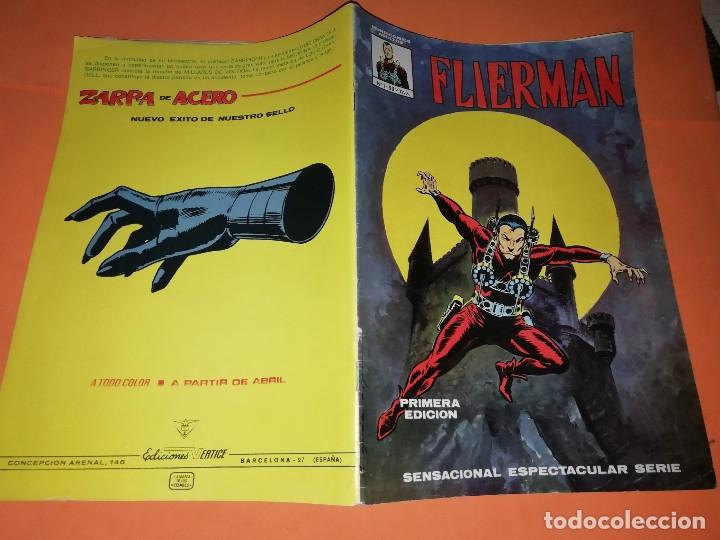 Cómics: FLIERMAN. Nº 1 VERTICE COLOR ( buen estado) Y Nº 2 SURCO b/n. ( ver fotos) - Foto 6 - 180251395