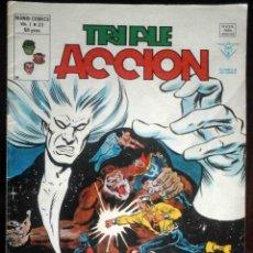 Cómics: TRIPLE ACCIÓN V.1 Nº 22 EXILIO AL OLVIDO - VÉRTICE MUNDI-CÓMICS. Lote 180263550