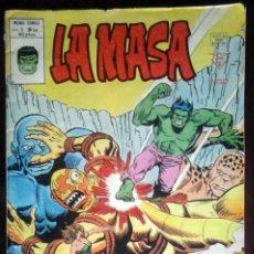 Cómics: LA MASA Nº 34 CALAMIDAD EN LAS NUBES - VÉRTICE MUNDI-CÓMICS. Lote 180268666