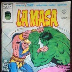 Cómics: LA MASA Nº 38 PELIGRO DEL PLANETA PLURAL - VÉRTICE MUNDI-CÓMICS. Lote 180268816