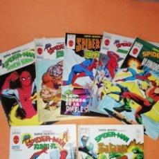 Cómics: SUPERHEROES PRESENTA: SPIDERMAN. VERTICE. V.2 Nº 9,13,36,60,107,108 Y123 .BUEN ESTADO. Lote 180387703