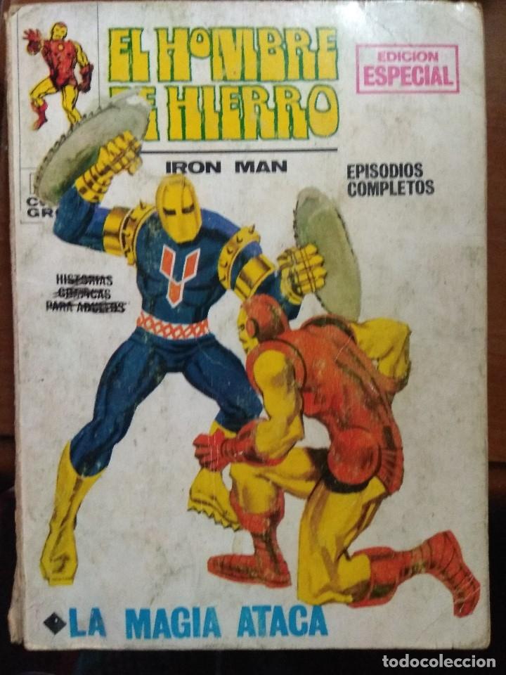 EL HOMBRE DE HIERRO Nº 3 - VÉRTICE TACO (Tebeos y Comics - Vértice - Hombre de Hierro)