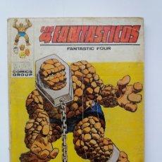 Cómics: LOS 4 FANTÁSTICOS. Nº 45. RECLAMO A ESTE ESCLAVO. EDICIONES VERTICE. 1972.. Lote 180855690