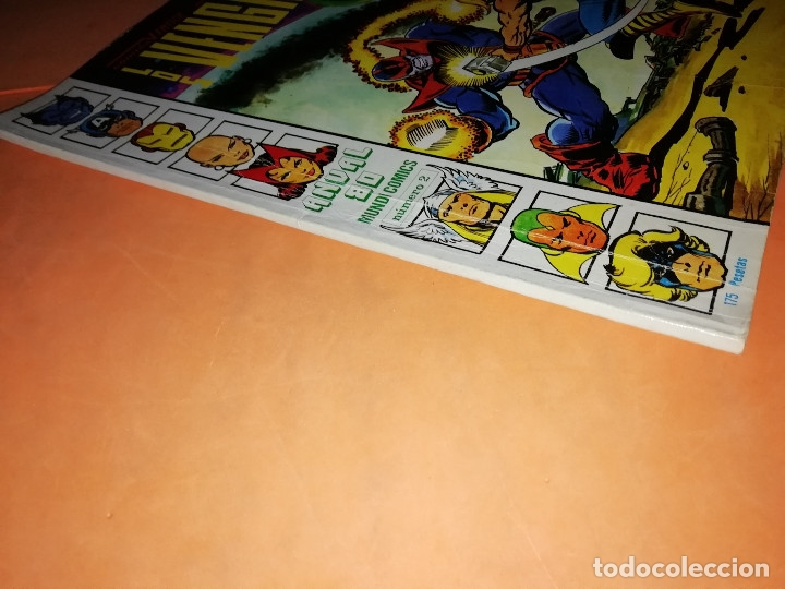 Cómics: COMICS VERTICE ADULTOS COLOR SERIES. LOS VENGADORES. ANUAL 80 Nº 2 - Foto 3 - 180948951