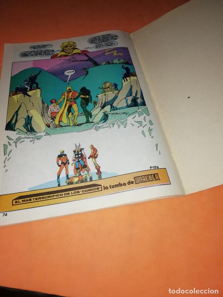 Cómics: COMICS VERTICE ADULTOS COLOR SERIES. LOS VENGADORES. ANUAL 80 Nº 2 - Foto 6 - 180948951