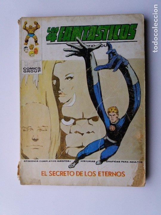 LOS 4 FANTÁSTICOS. Nº 57. EL SECRETO DE LOS ETERNOS. EDICIONES VERTICE. 1973. (Tebeos y Comics - Vértice - 4 Fantásticos)