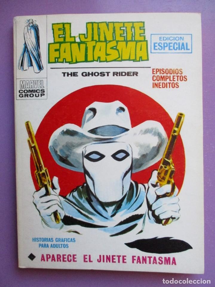 EL JINETE FANTASMA Nº 1 VERTICE TACO ¡¡¡MUY BUEN ESTADO !!!!!! (Tebeos y Comics - Vértice - V.1)